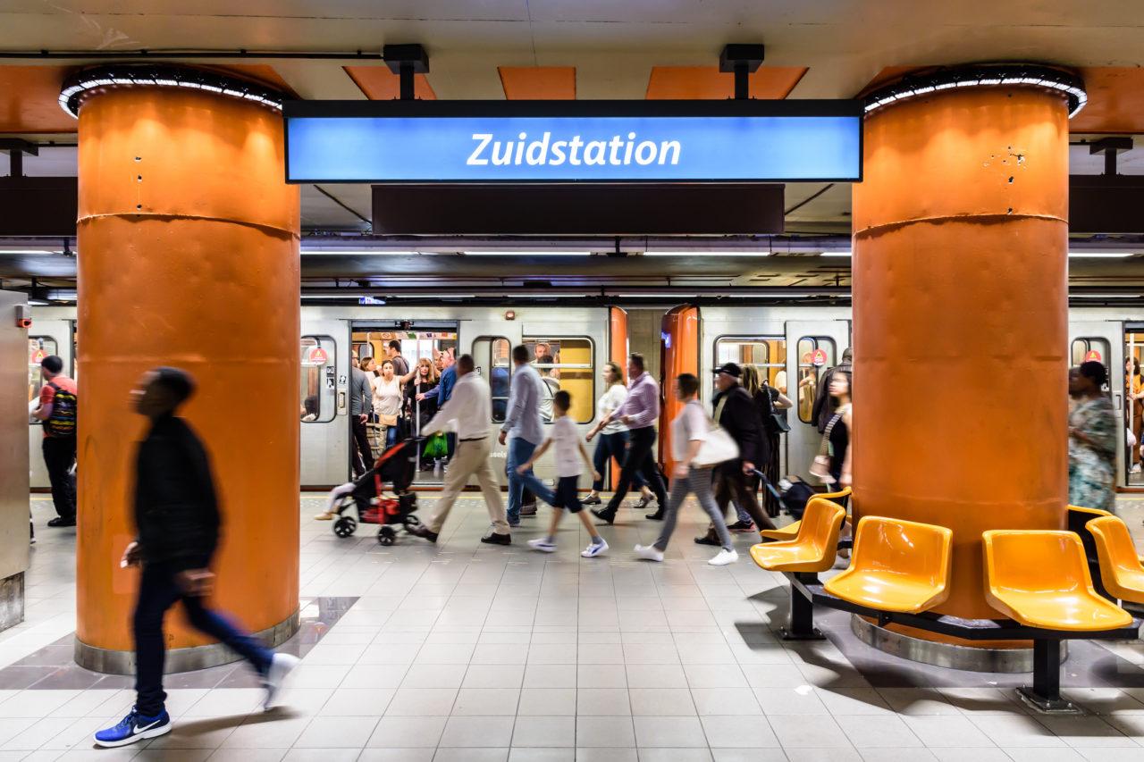 Extension du réseau du métro à Bruxelles